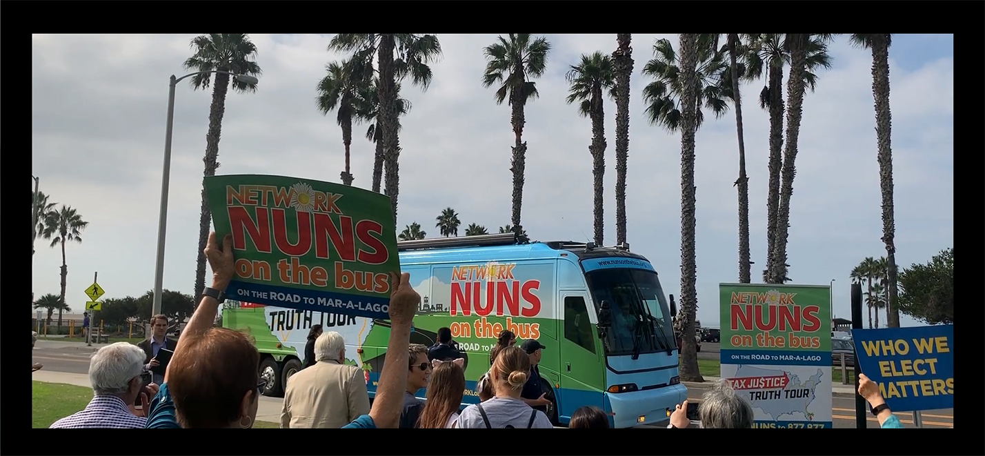 Join the #NunsOnTheBus Tax Justice Truth Tour!