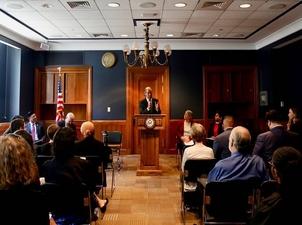 Sister Quincy Talks Faithful Democracy on Capitol Hill