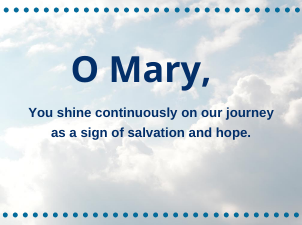 Honoring the Assumption of Mary and Praying for All Mothers