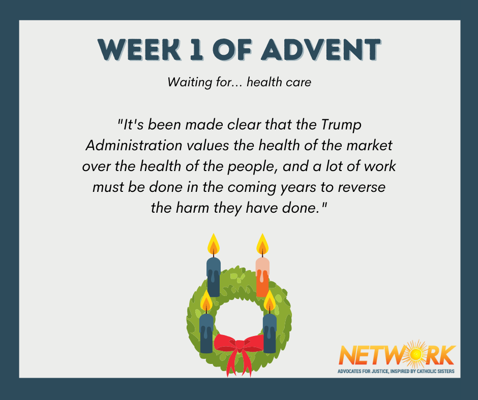 Advent 2020: Waiting for Health Care Justice