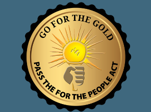 Team Democracy: Go for the Gold, Pass the For the People Act