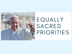 Our Commitment to Equally Sacred Issues