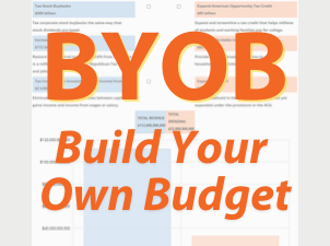 New Tool: Build Your Own Budget